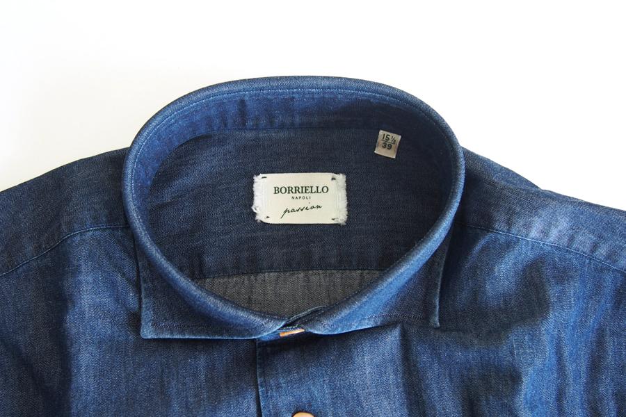 ボリエッロ|BORRIELLO|セミワイドカラー長袖シャツ|39イメージ08
