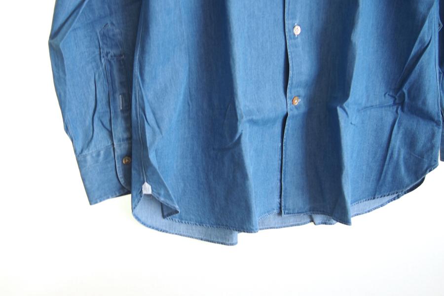 ボリエッロ|BORRIELLO|セミワイドカラー長袖シャツ|41|イメージ02