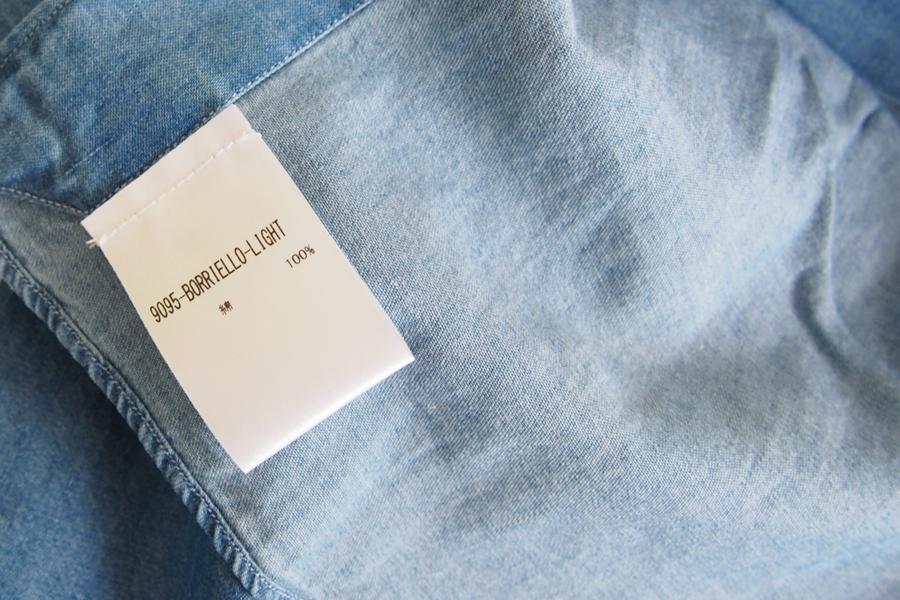 ボリエッロ|BORRIELLO|セミワイドカラー長袖シャツ|41|イメージ09