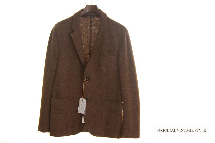 オリジナルヴィンテージスタイル ORIGINAL VINTAGE STYLE ニットジャケット イメージ01