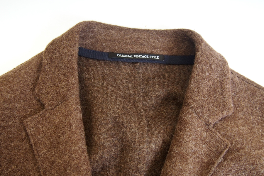 オリジナルヴィンテージスタイル ORIGINAL VINTAGE STYLE ニットジャケット イメージ05