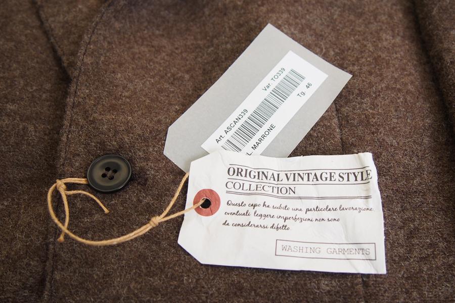 オリジナルヴィンテージスタイル ORIGINAL VINTAGE STYLE ニットジャケット イメージ06