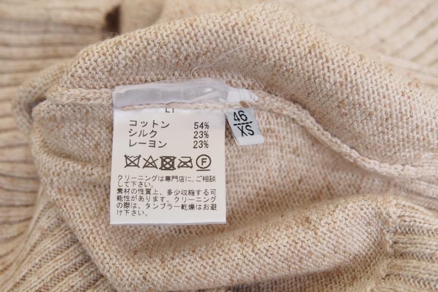 セッテフィーリ カシミヤ|Settefili Cashmere|シルク混コットンクルーネックニット|RALI2H|46|イメージ07