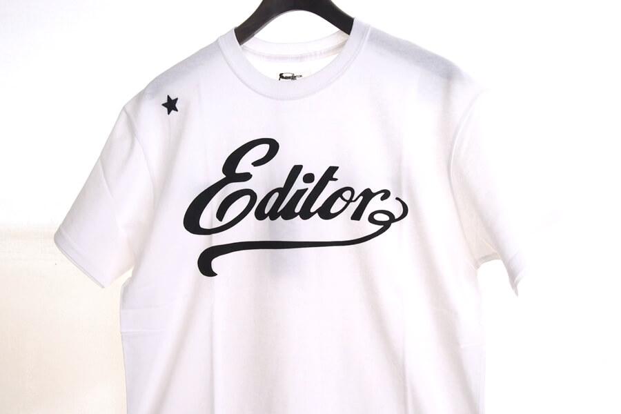 エディター|THE EDITOR|ロゴプリントTシャツ|M|ホワイトイメージ05