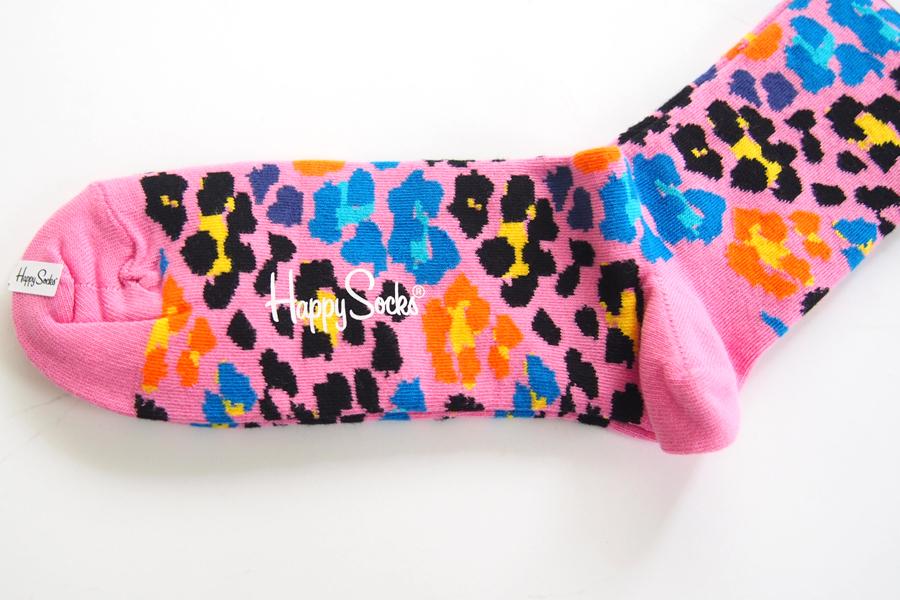 ハッピーソックス|happy socks|クルー丈カジュアルソックス|レオパード柄|MULTI LEOPARD|10113021イメージ03