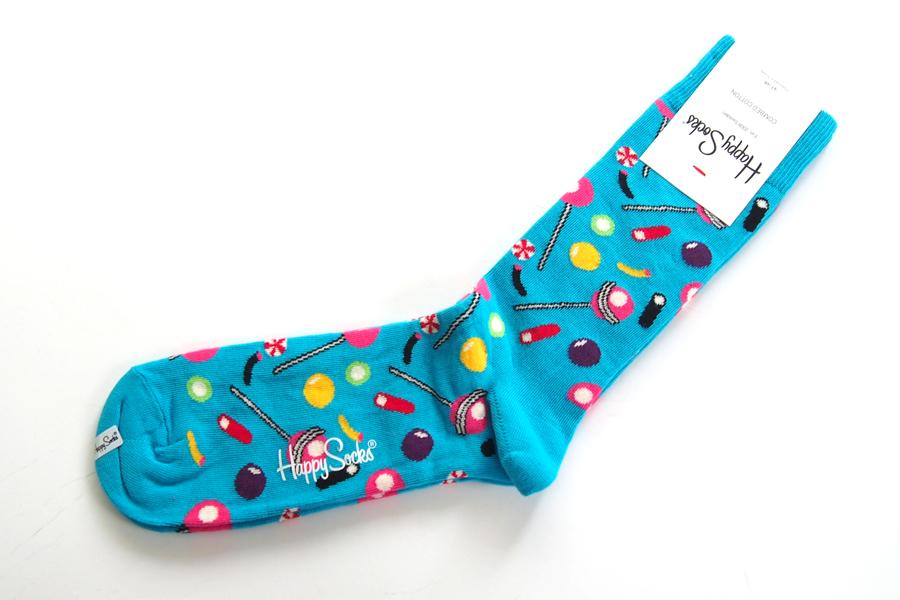 ハッピーソックス|happy socks|クルー丈カジュアルソックス|キャンディ柄|CANDY|10117020イメージ02