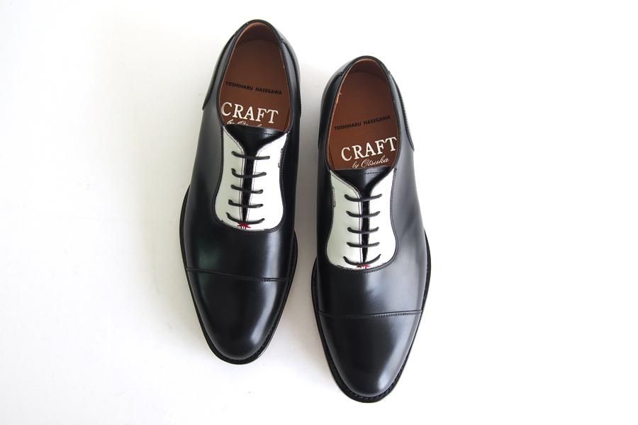 クラフト バイ オーツカ|Craft by Otsuka|レザードレスシューズ|内羽根アデレードストレートチップ|YOSHIHARU HASEGAWA|大塚製靴|イメージ06