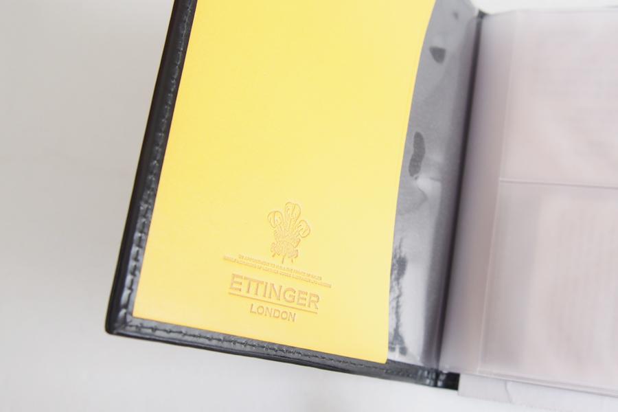 エッティンガー|ETTINGER|ビジネスカードファイル|ブラックイメージ03