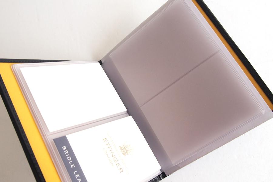 エッティンガー|ETTINGER|ビジネスカードファイル|ブラックイメージ04