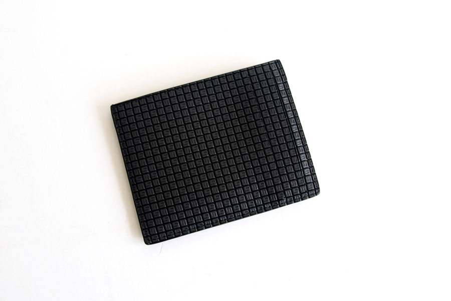 セラピアンミラノ Serapian  ステパンカードケース PVC型押し グレイイメージ02