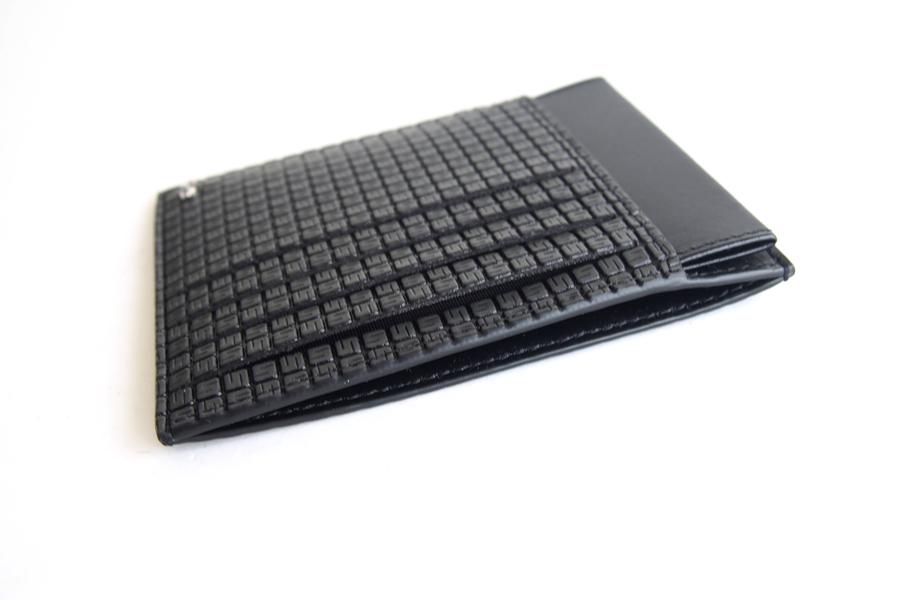 セラピアンミラノ Serapian  ステパンカードケース PVC型押し グレイイメージ05