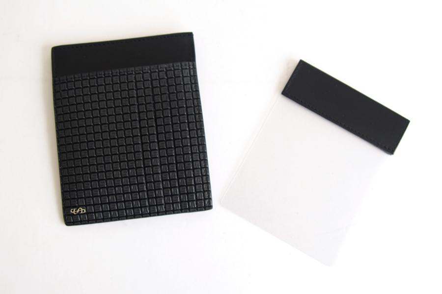 セラピアンミラノ Serapian  ステパンカードケース PVC型押し グレイイメージ06