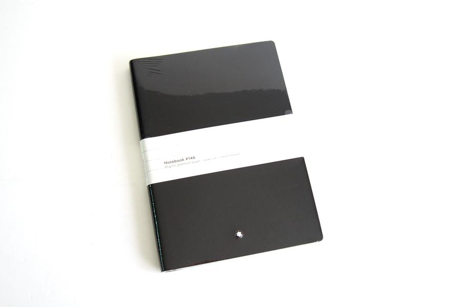 モンブラン|MONTBLANC|ノートブック No.146(ブラック)+パスパルトゥールポケット(レッド)イメージ02