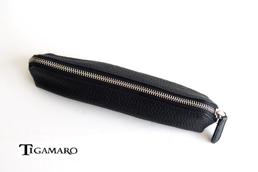 ティガマーロ TIGAMARO シュリンクレザーペンケースイメージ01