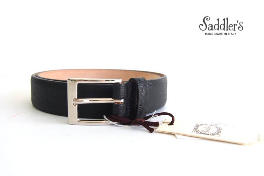 サドラーズ|Saddler's|グレインレザーベルト|SG07|ブラック|85イメージ01