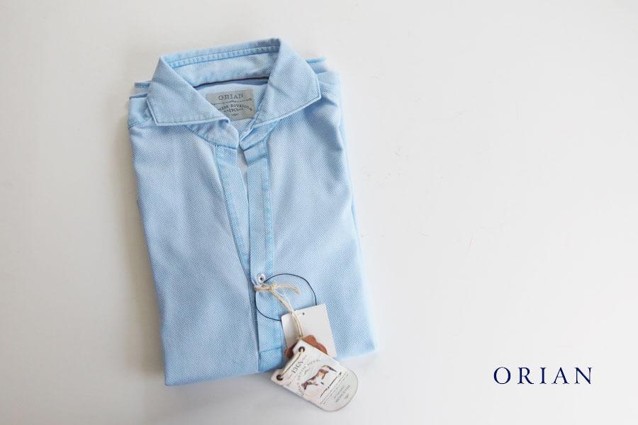 オリアン ORIAN プルオーバーメッシュシャツ JD30F ライトブルー イメージ01