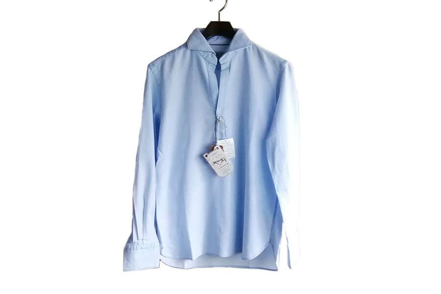 オリアン ORIAN プルオーバーメッシュシャツ JD30F ライトブルー イメージ02