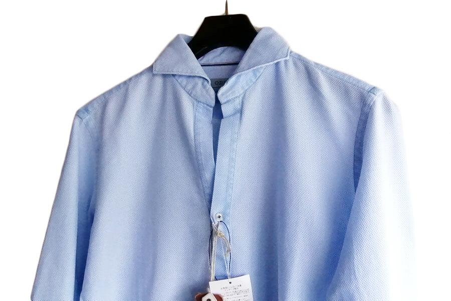 オリアン ORIAN プルオーバーメッシュシャツ JD30F ライトブルー イメージ03