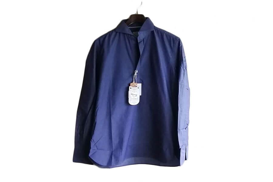 オリアン ORIAN プルオーバーシャツ JD30F ネイビー Sイメージ02