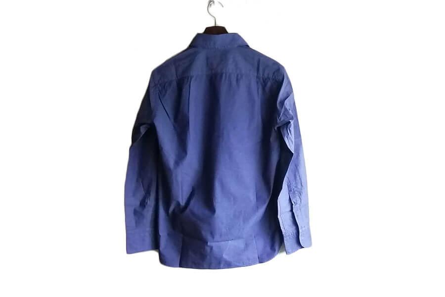 オリアン ORIAN プルオーバーシャツ JD30F ネイビー Sイメージ03