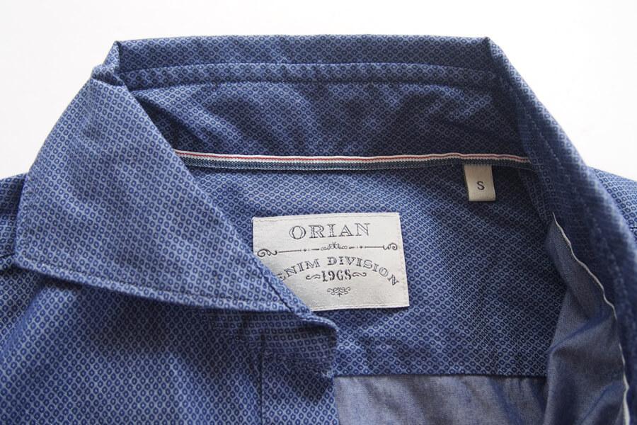 オリアン ORIAN プルオーバーシャツ JD30F ネイビー Sイメージ05