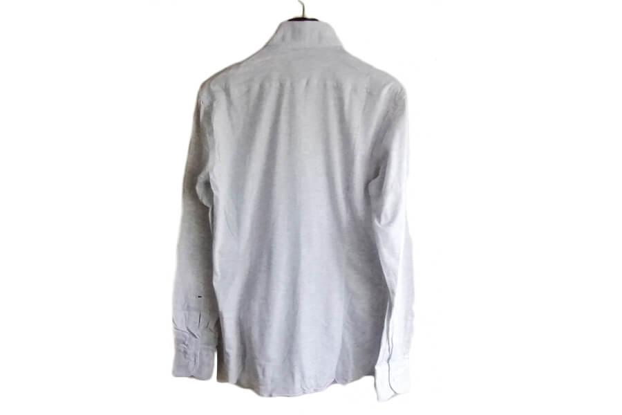 オリアン ORIAN ジャージーシャツ FLUID EVOLUTION SLIM FIT YJ91 ライトグレイ S イメージ04