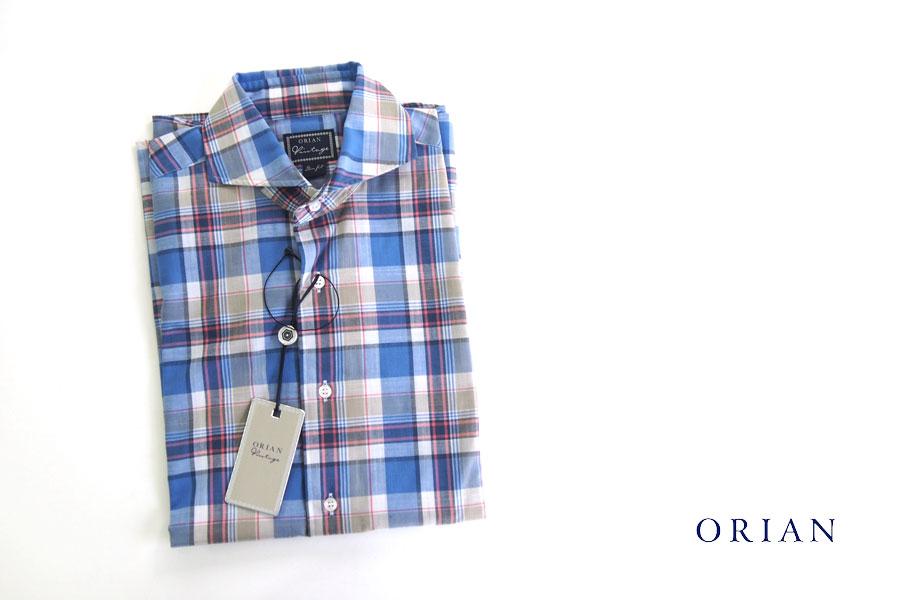 オリアン|ORIAN|チェック柄プリントシャツ|VINTAGE|JH91|39イメージ01