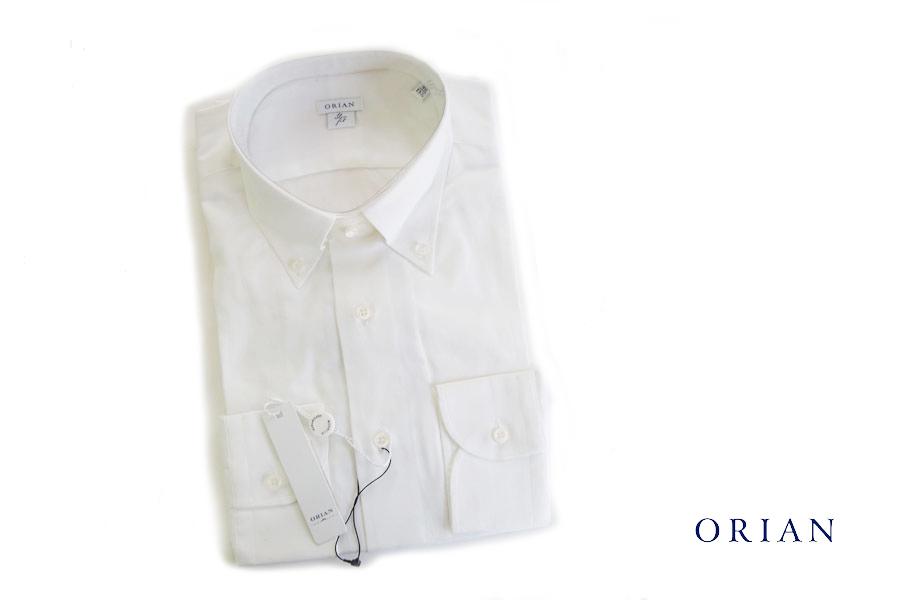 オリアン ORIAN ファインオックス ボタンダウンシャツ スリムフィット 40 J357SSTイメージ01