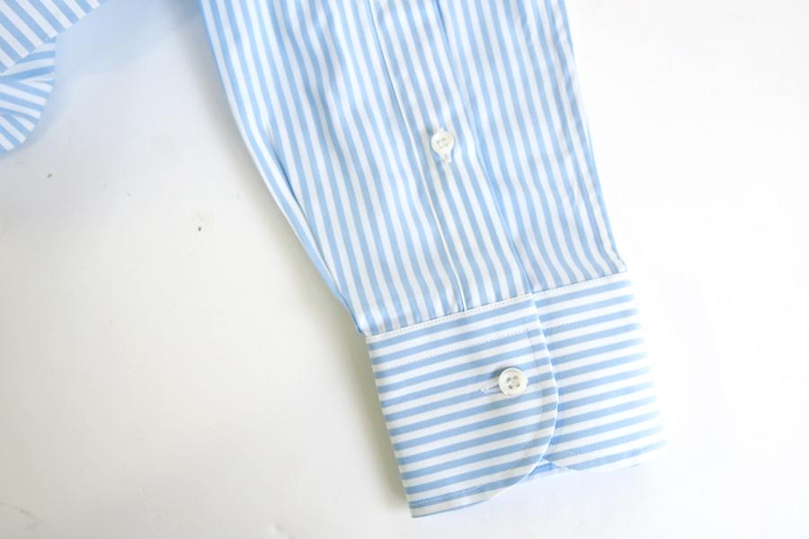 オリアン ORIAN ワイドカラーストライプシャツ スリムフィット 39イメージ05