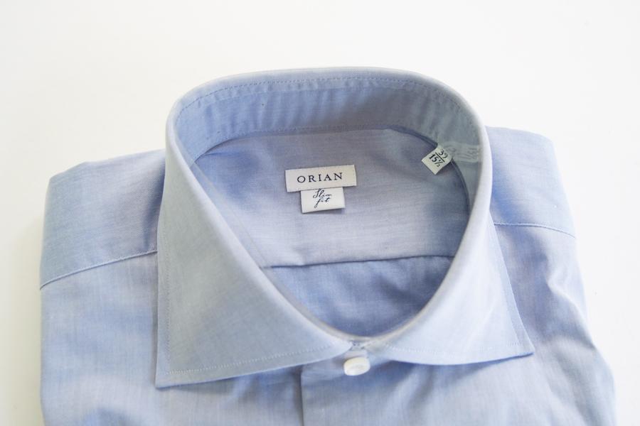オリアン|ORIAN|ワイドカラーシャツ|スリムフィット|ライトブルー|39イメージ02