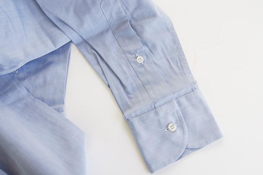 オリアン|ORIAN|ワイドカラーシャツ|スリムフィット|ライトブルー|39イメージ03