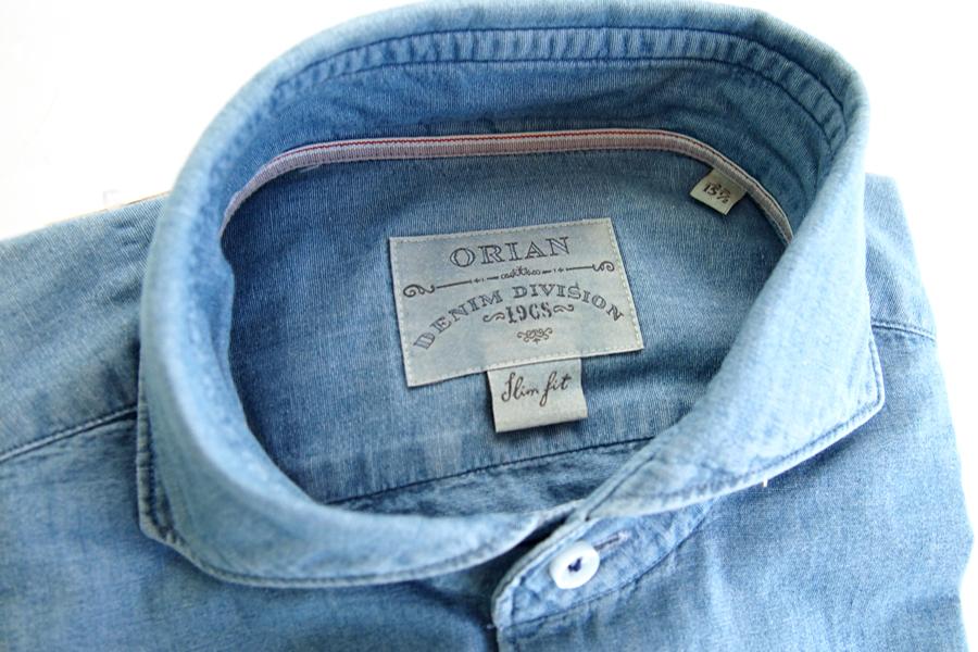 オリアン ORIAN シャンブレーシャツ デニムディヴィジョン YD91 SLIM FIT 39イメージ02