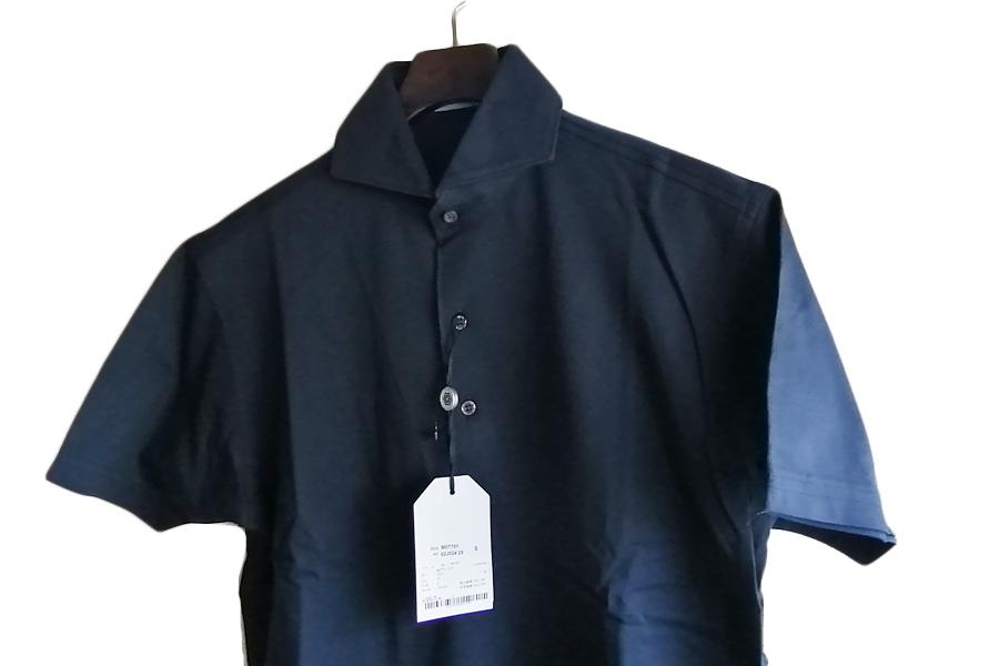 オリアン ORIAN 鹿の子半袖ポロシャツ Mot791 ネイビー S イメージ06