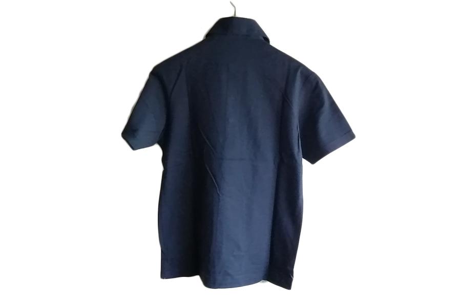 オリアン ORIAN 鹿の子半袖ポロシャツ Mot791 ネイビー S イメージ07