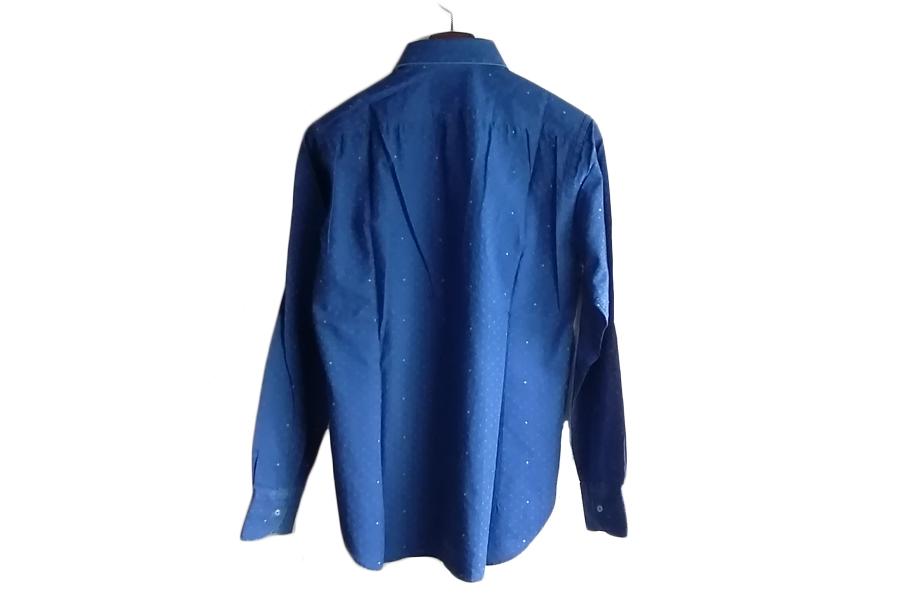 オリアン|ORIAN|シャンブレー小紋柄プリントシャツ|デニムディヴィジョン|SLIM FIT|0D14|Mイメージ08