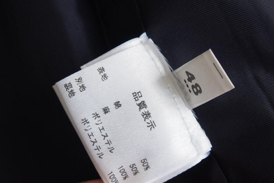 ジャンジ Giangi コットン×リネンストライプベスト ジレ 48イメージ09