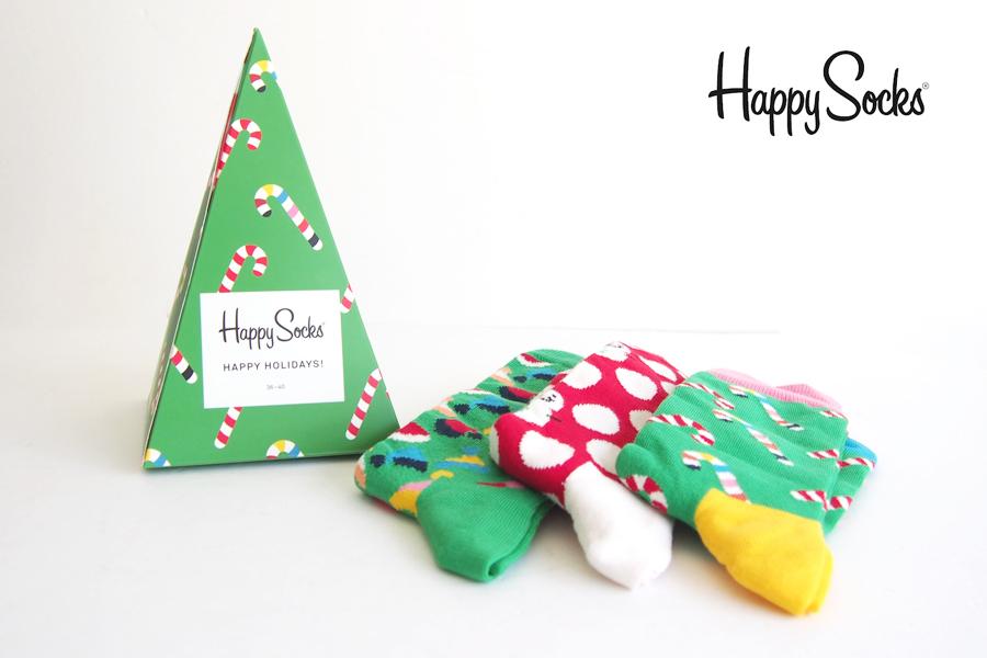 ハッピーソックス happy socks ギフトボックス 3足組 Christmas Tree Gift Box 3-packイメージ01