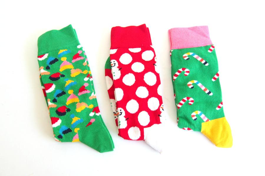 ハッピーソックス happy socks ギフトボックス 3足組 Christmas Tree Gift Box 3-packイメージ06