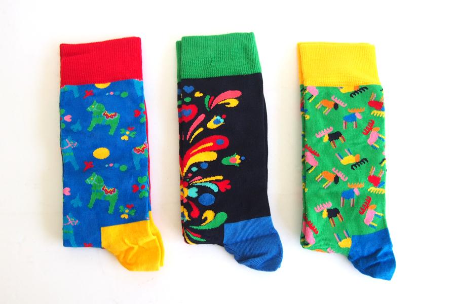 ハッピーソックス happy socks ギフトボックス 3足組 Swedish Edition Gift Box 3-packイメージ03